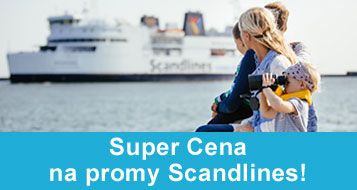 Super Cena na promy Scandlines